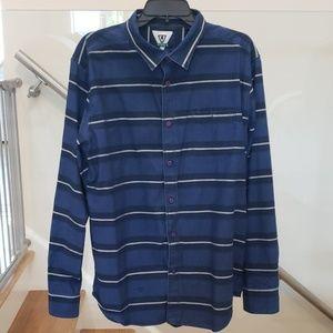 Vissla nice men's button down shirt . Size XL